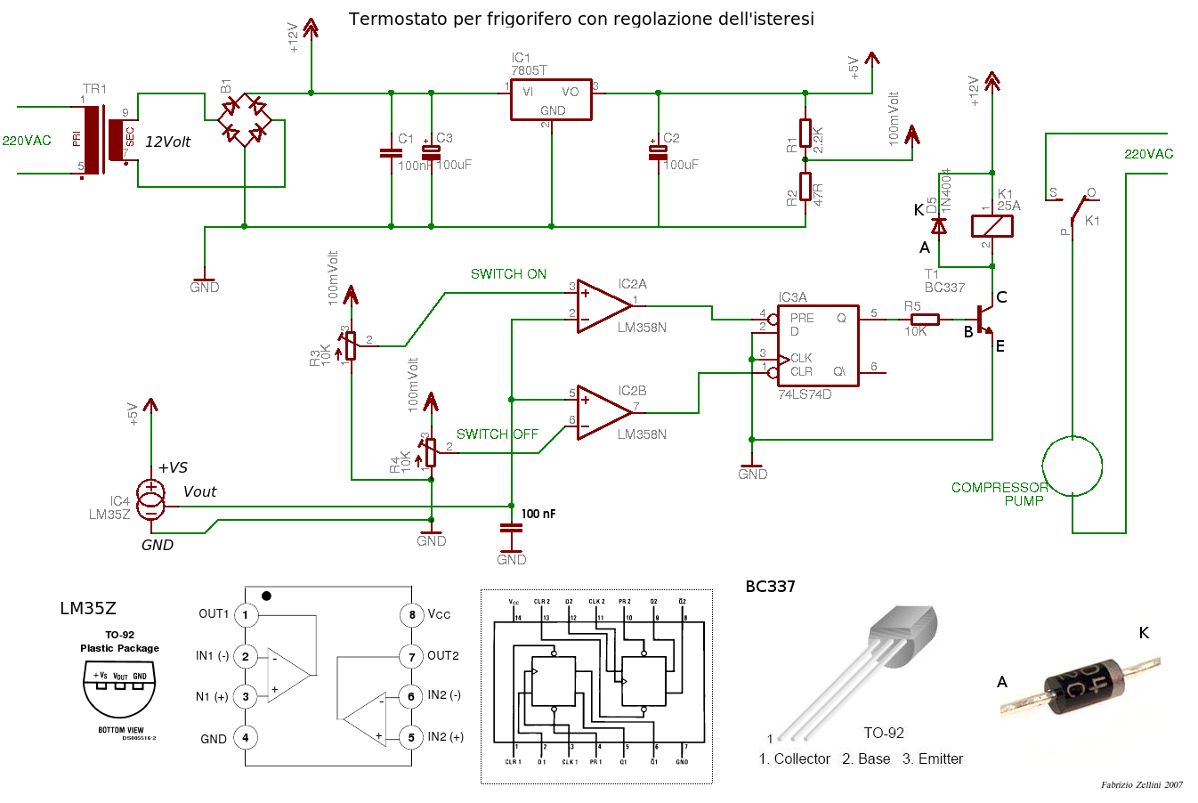 Schema elettrico frigorifero indesit for Frigo no frost non raffredda