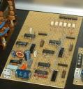 Scheda pilotaggio controller stepper e interfaccia PC con fotoaccoppiatori