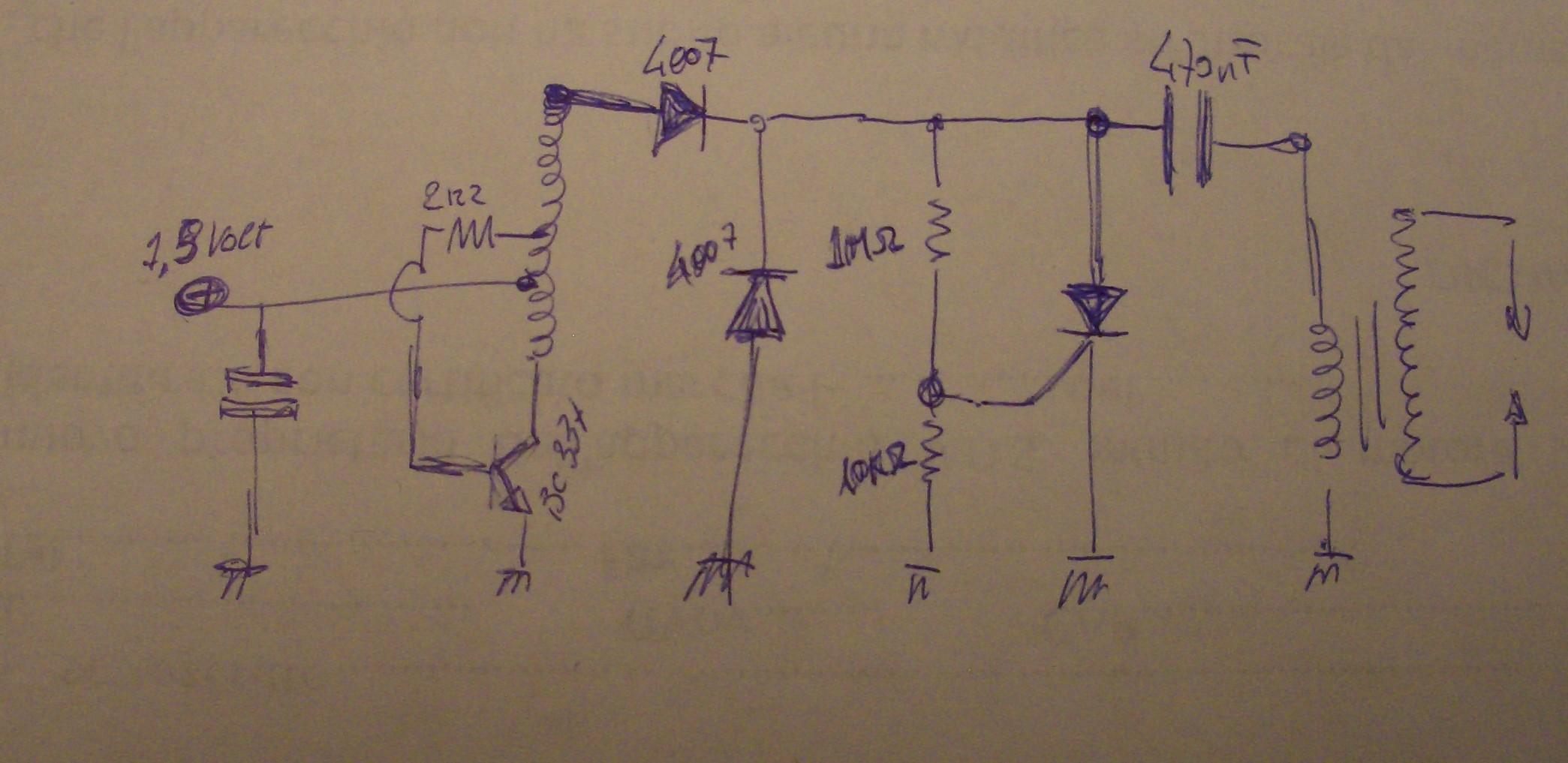 Schema Elettrico Elevatore Di Tensione : Anatomia di un accendigas elettrico