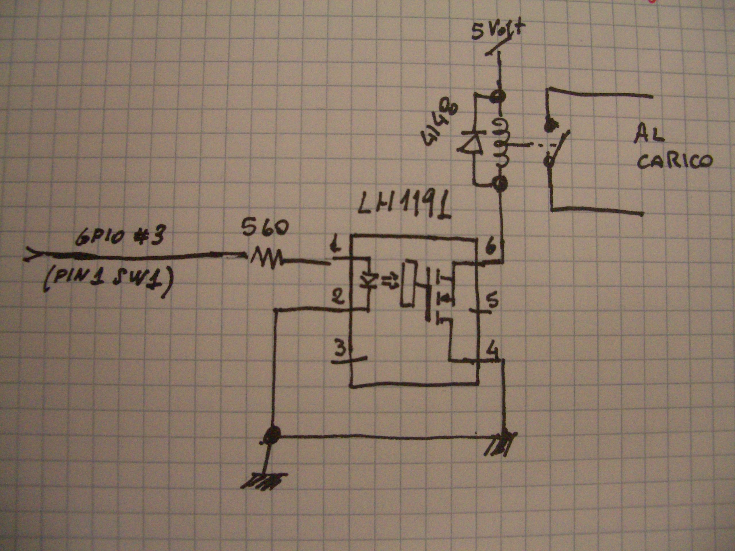 Impianto illuminazione con relè schema di impianto luce con rele