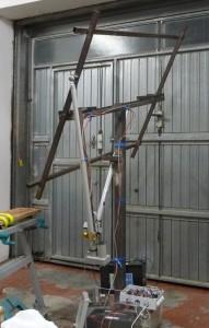 solar tracker frame