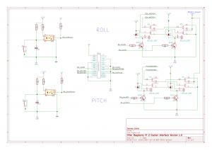 schema elettrico interfaccia con RaspberryPI