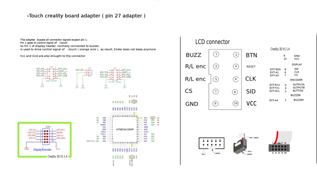 pin 27 adapter for creality board